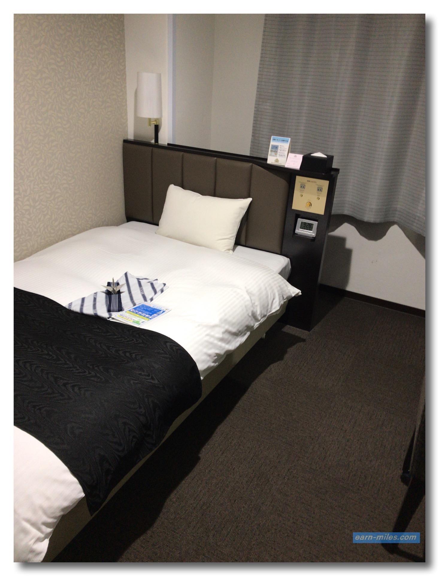 アパホテル天文館客室3