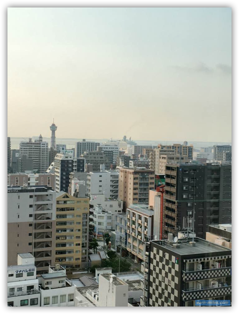 ホテルオークラ福岡からの眺望