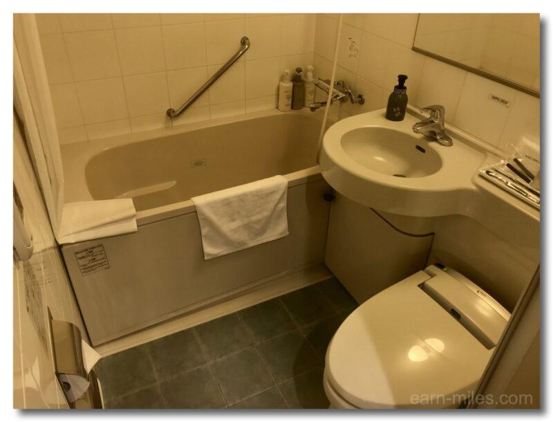 サンデイズイン鹿児島客室内浴室