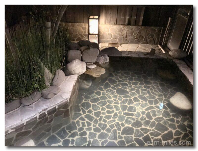 ドーミーイン鹿児島露天風呂湯船