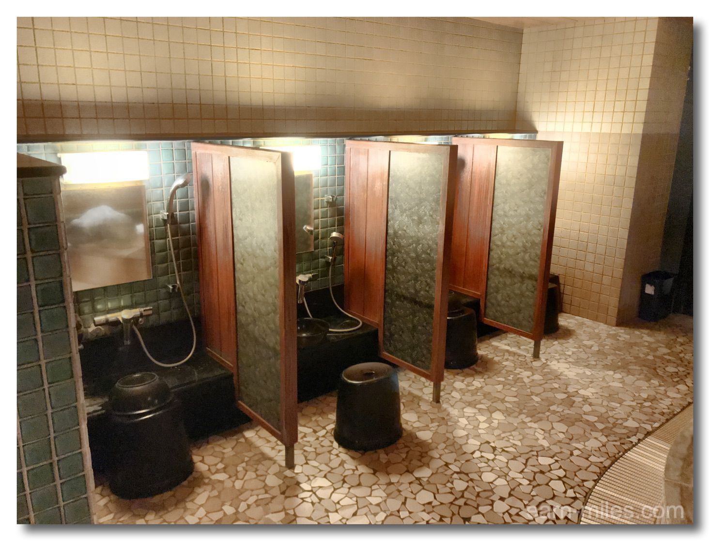 ドーミーイン鹿児島露天風呂洗い場