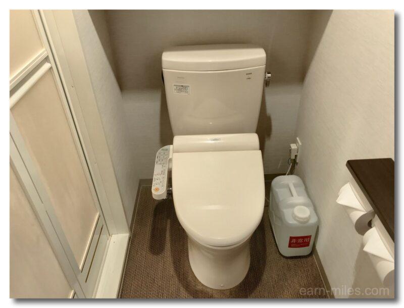 ドーミーイン鹿児島客室内トイレ