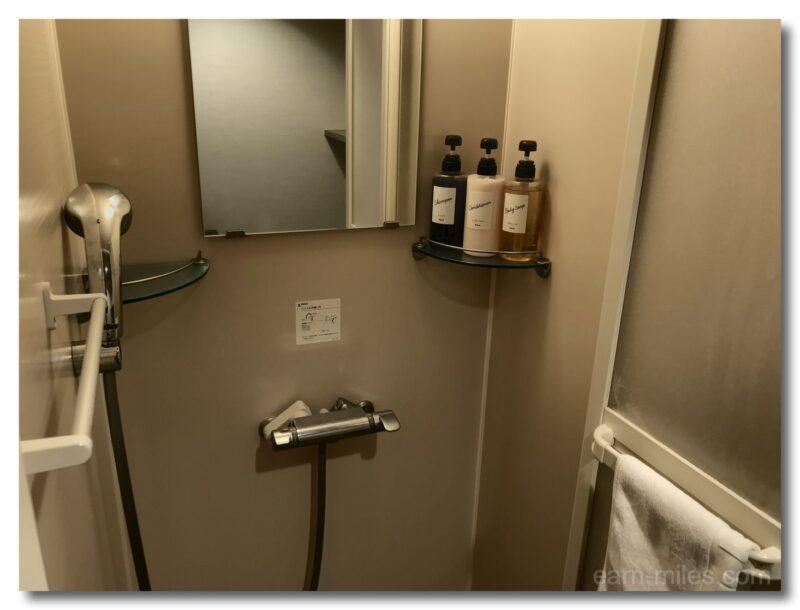 ドーミーイン鹿児島シャワールーム
