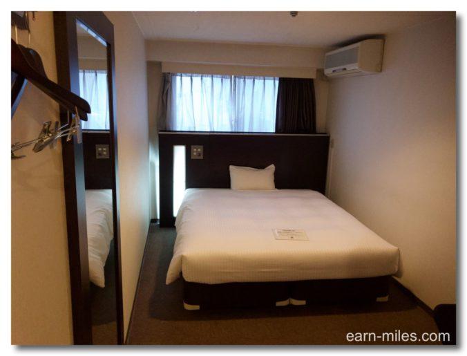 GRホテル鹿児島客室ベッド