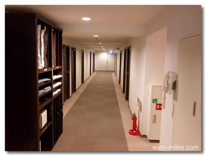 GRホテル鹿児島廊下