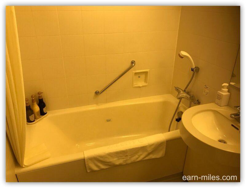 JALシティ宮崎客室浴槽