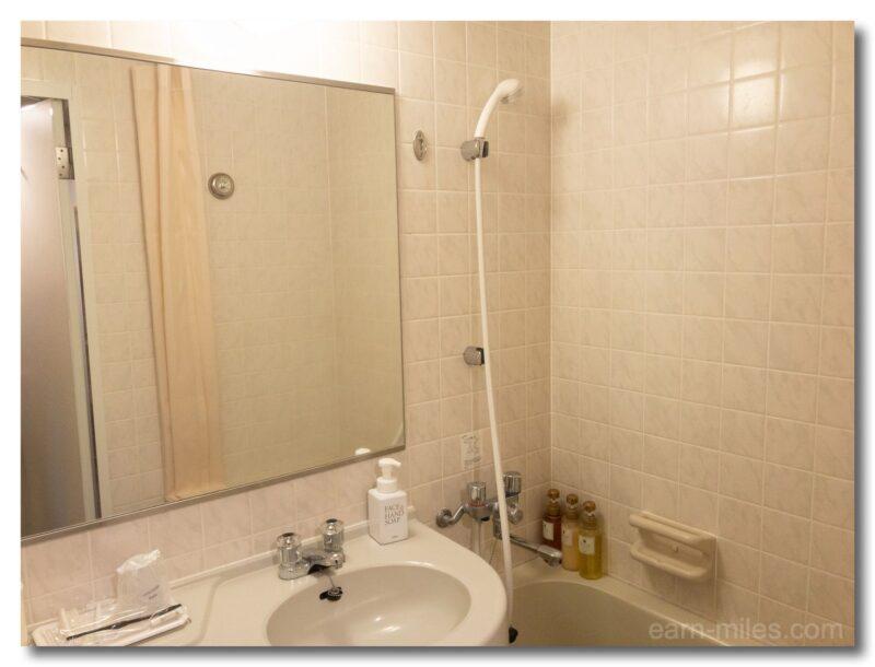 レクストン鹿児島シングルルームシャワー